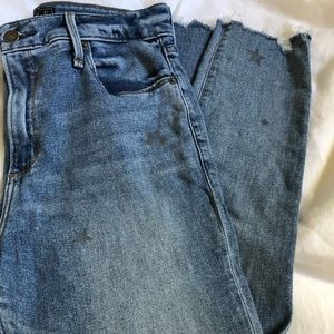 Abercrombie  Simone High Rise jeans Size 27
